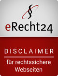 E-Recht24 Disclaimer Sigel
